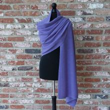 SOLD OUT - Longstone Supersoft Wrap Amethyst